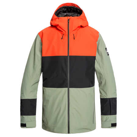 Quiksilver Sycamore Mens Jacket in Agave Green