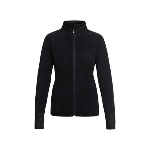 Roxy Harmony Technical Zip-Up Fleece for Women True Black