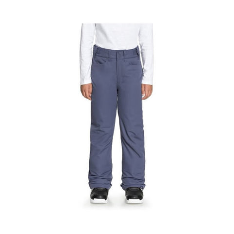 Roxy Backyard Snow Pants for Girls 8-16 Crown Blue