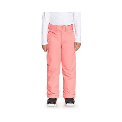 Roxy Backyard Snow Pants for Girls 8-16 Shell Pink