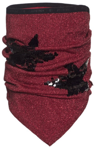 Goldbergh STAR Neckwarmer in Ruby Red