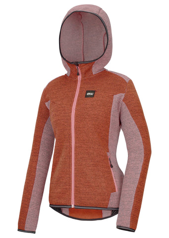 Picture Moder Womens fleece in Brick