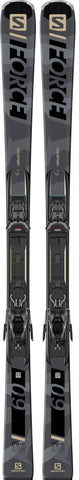 Salomon S/Force 9 Skis with M11 GW binding in 163cm