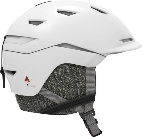 Salomon Sight W Ski Helmet White in Medium