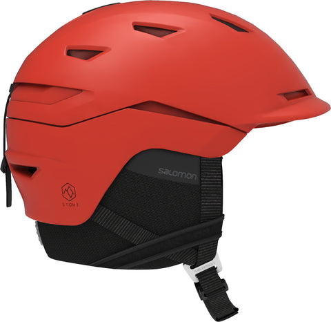 Salomon Sight Helmet Red Orange in Large