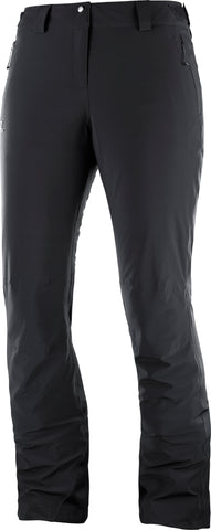 Salomon Icemania Women's Ski Pant in Black