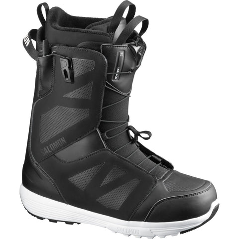 Salomon Launch Snowboard Boots in Black