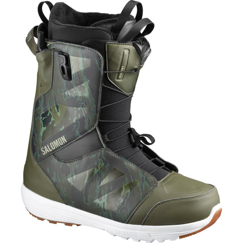 Salomon Launch Snowboard Boots in Camo