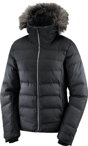 Salomon Stormcozy Women's Ski Jacket in Black