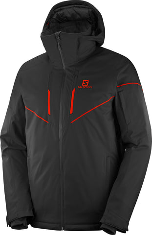 Salomon Stormrace Men's Ski Jacket in Black