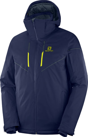 Salomon Stormrace Men's Ski Jacket in Night Sky