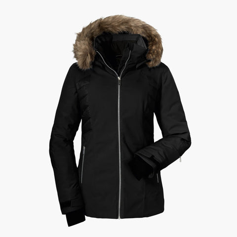Schoffel Maria Alm1 Womens Ski Jacket in Black