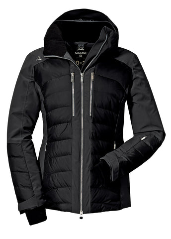Schoffel Maribor 3 Womens Down Ski Jacket in Black