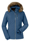 Schoffel Plancia Womens Ski Jacket in Mood Indigo