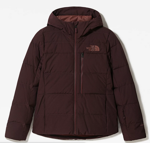 The North Face Women's Heavenly Down Jacket in Root Brown Heather
