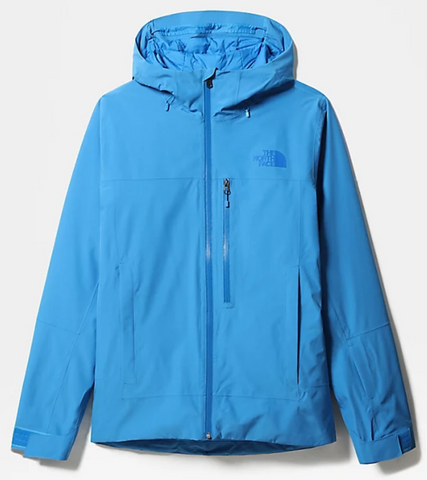The North Face Descendit Mens Snow Jacket in Clear Lake Blue