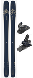 Salomon QST 99 Ski with Warden MNC 13 Binding in 174cm