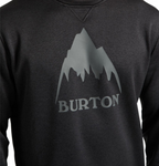 Burton Men's Oak Crew in True Black Heather