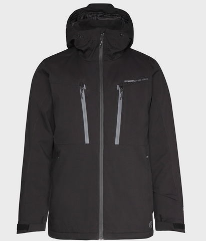 Protest Timo Ski jacket in True Black