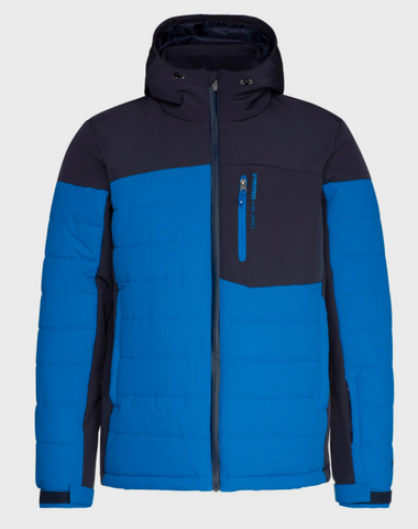 Protest Mount 20 Puffer ski jacket in Marlin Blue