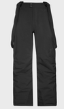 Protest Owens Ski trousers with Suspenders in True Black