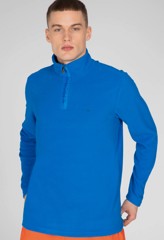 Protest Perfecto Fleece Jumper in Marlin Blue style 3792800