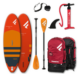 Fanatic Ripper Air 2021 7'10 Inflatable SUP with carbon paddle