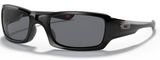 Oakley Fives Squared in Polished Black with Grey Lens oo9238-04
