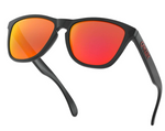Oakley Frogskins in Black Ink with Prizm Ruby oo9013-C955