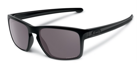 Oakley Sliver in Matte Black with Prizm Black Polarized Lens oo9262-4457
