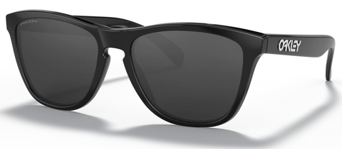 Oakley Frogskin in Polished Black with Prizm Black oo9013-C455