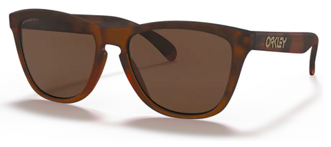 Oakley Frogskins in Matte Tortoise with Prizm Tungsten oo9013-C555