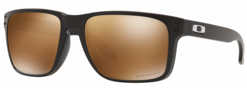 Oakley Holbrook XL in Matte Black with Prizm Tungsten Polarized Lens oo9417-2459