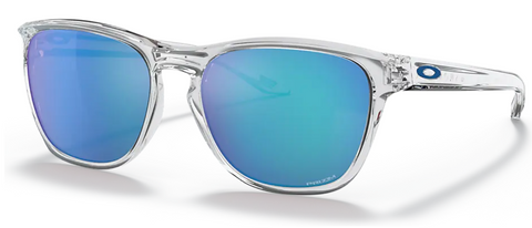 Oakley Manorburn Polished Clear with Prizm Sapphire oo9479-0656