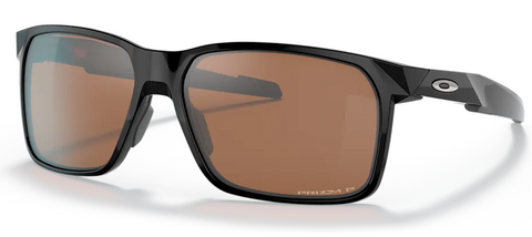 Oakley Portal X in Polished Black with Prizm Tungsten Polarized oo9460-1359