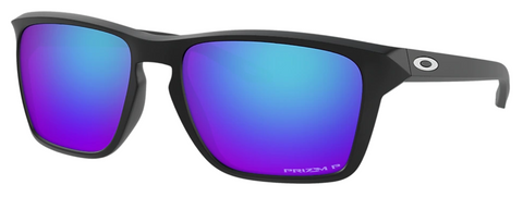Oakley Sylas Matte Black with Prism Sapphire Polarized oo9448-1257