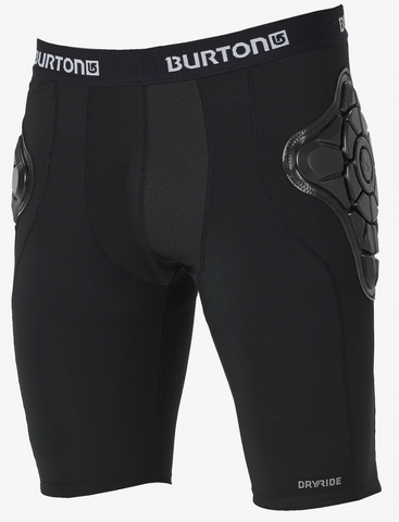 Burtons Mens Total Impact Shorts Black