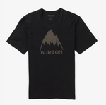 Burton Classic Mtn High Mens T Shirt T Black