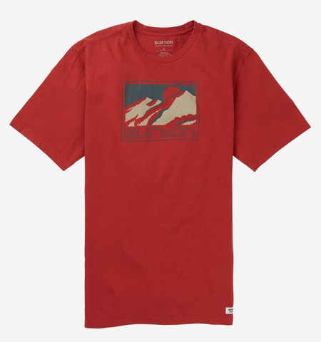 Burton Sled Mens T Shirt in Tandoori