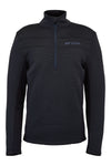 Spyder Encore Half Zip in Black