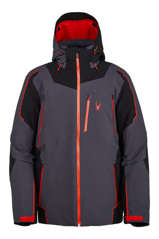 Spyder Leader GTX GoreTex Mens Ski Jacket in Ebony