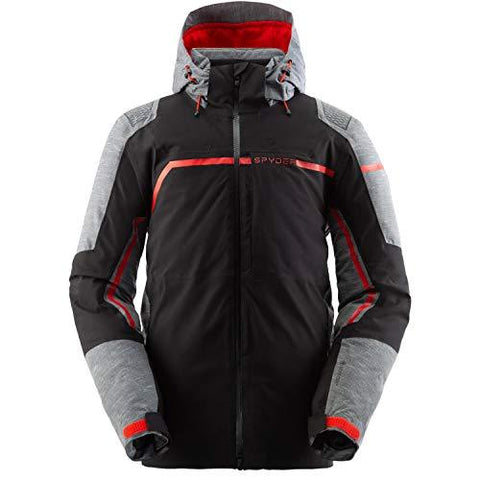 Spyder Titan GorTex Mens Ski Jacket in Black