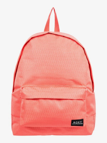 Roxy Sugar Baby Textured 16L Backpack in Deep Sea Coral