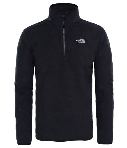 The North Face 100 Glacier Men's 1/4 Zip in Black