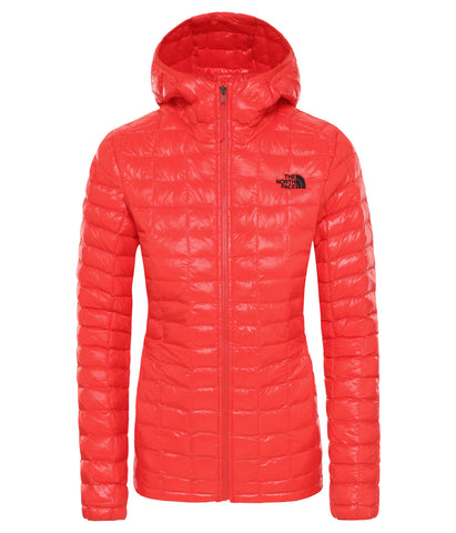 The North Face ThermoBall Eco Women's Hoodie in Fiery Red