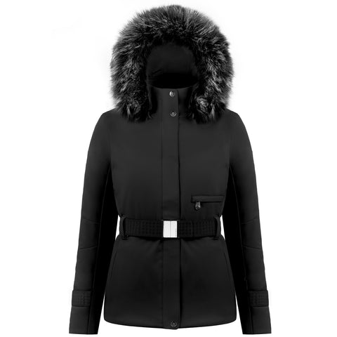 Poivre Blanc Ski Jacket 0801 WO/A in Black