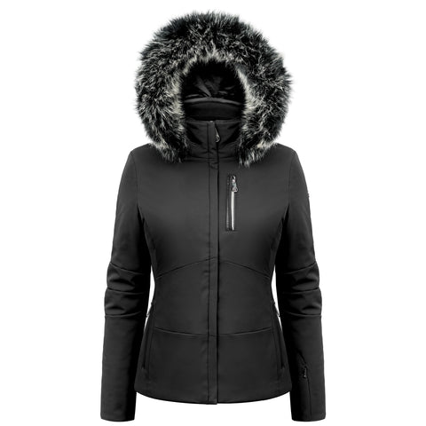 Poivre Blanc Ski Jacket 0802 WO/A in Black