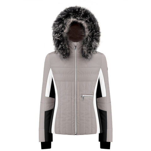 Poivre Blanc Ski Jacket W19 1002 WO/A in Soba Brown