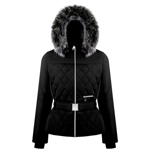 Poivre Blanc Riva Ski Jacket W1003 in Black