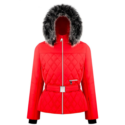 Poivre Blanc Riva Ski Jacket W1003 in Scarlet Red